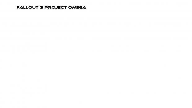fallout 3 Project Omega