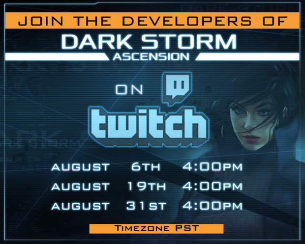 We'll be Broadcasting on twitch Q&A Today and more dates will follow!