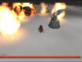 [+video] Mega cannon + Firewave + Flame Burst!