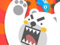 BIG BEAR-FRUIT NINJA STYLE GAME WITH PAWS!