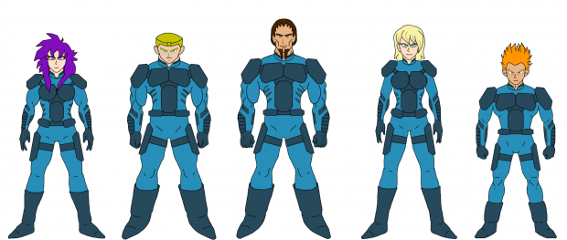 """FMC: Lore entry #002 """"Generals of the C.P.A. Alliance."""""""