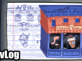 Making of Background Element #1, Frappe Parlor