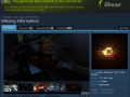 Missing Information Greenlit on Steam!