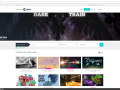 Dark Train as a featured game on official Unity website!