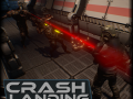 Crash Landing - Top Down Shooter Game