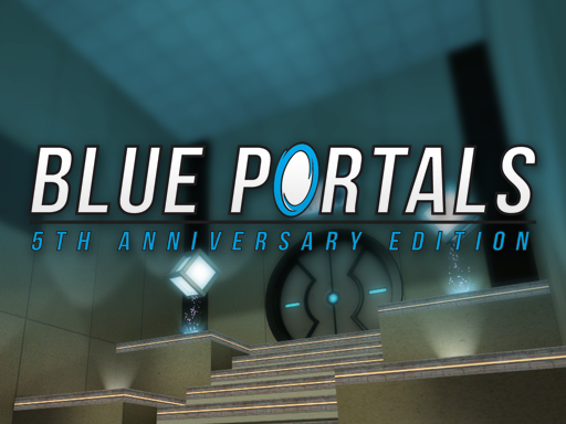 Blue Portals on Steam Greenlight!
