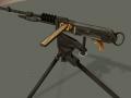 French Hotchkiss Machinegun & Lebel Rifle