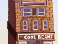 Cool Beans background element - Making of