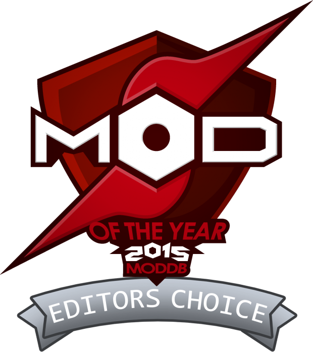 2nd place on Moddb Editor`s Choice 2015