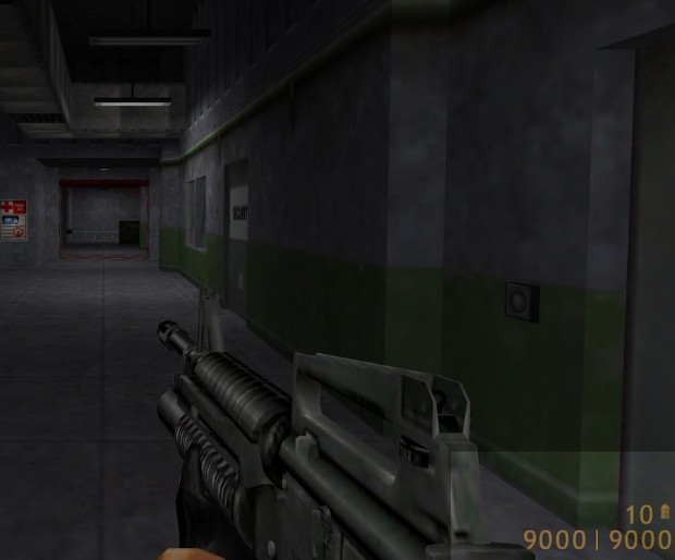 Half-life1 Coding: 4digits on HUD and 9999 ammo on clip