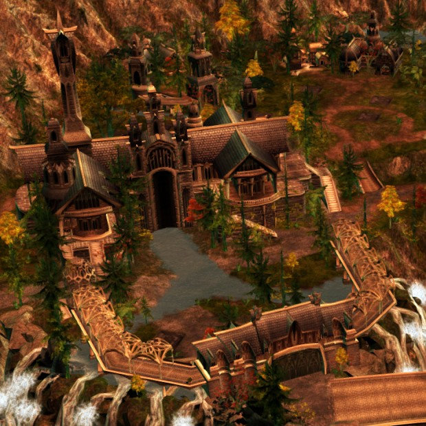 Rivendell, the Valley of Imladris