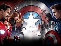 The great success of captain America civil war only by present of iron man