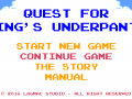 Quest for King's underpants - Released on AppStore