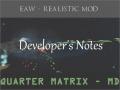 Developer's Notes - #2