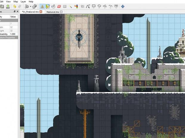 Mandagon - Building levels