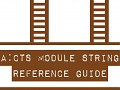 A:CTS Module String Reference Guide