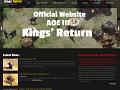 Official Kings' Return New Website Launch