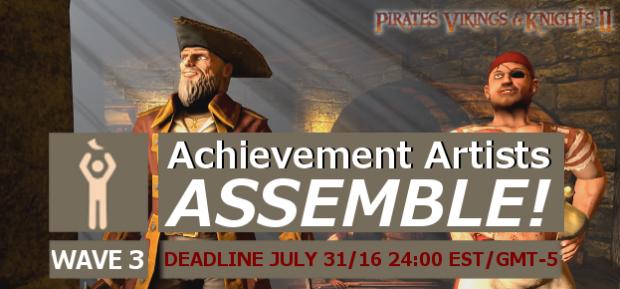 [WAVE 3] Achievement Artists Assemble!
