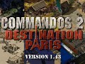 Commandos 2: Destination Paris 1.43 Released!