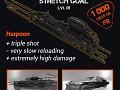 """Diesel Guns. New weapon """"Harpoon"""""""