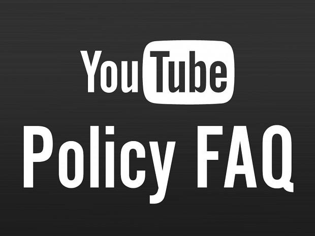 YouTube Policy FAQ