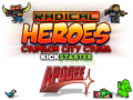 Mad Unicorn Games + Apogee Software = Radical Heroes!
