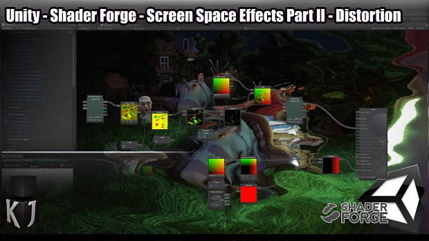 Screen Space Effects in Unity using Shader Forge