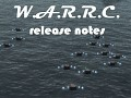 W.A.R.R.C. Warfare Dynamics release notes and features