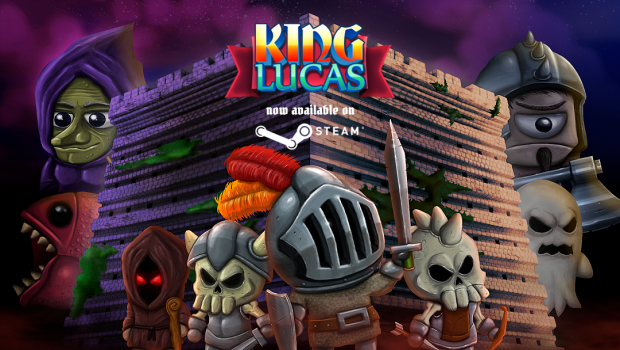 Put your swords up in the air, King Lucas is here!