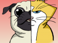 Funky Pong - cat vs. pug!