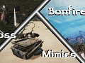 Example boss fight, mimcs and bonfires