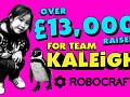 Over £13,000 Raised for Kaleigh