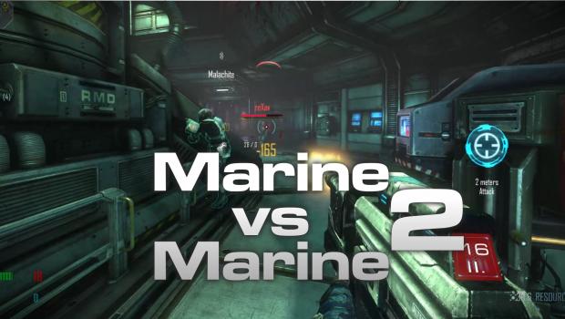 Marine versus Marine test #2 was a success!