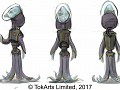 Multiverse: Cosmic Conquest CCG alien races concept art