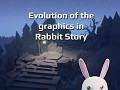 Evolution of the graphics in Rabbit Story