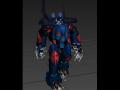 Robo Boss animations Work in Progress