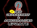 Update of new department and Abnormalities