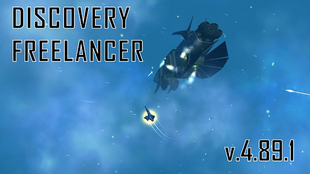 Discovery Freelancer 2017: Version 4.89.1 is now LIVE + Win10 Fix