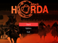 UPDATE GAME: Develop a menu for the game Horde attack