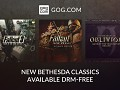 Fallout 3, New Vegas, And Oblivion Released DRM-Free On GOG.com