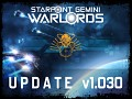 SG Warlords updated to v1.030 and upcoming changes