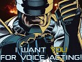 We're looking for voice actors for our project