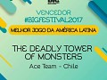 ​​The Deadly Tower of Monsters wins best Latin American game at B​IG​ Festival 2017!
