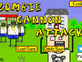 Zombie Cannon Attack! is the zombie themed endless runner with cannons you've been waiting for