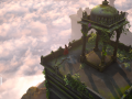 Raji, WIP In-game Environment, Part 1