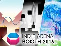 Indie Arena Booth at Gamescom 2017 - Belgian Games