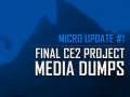 Micro Update #1: Final CE2 project media dumps