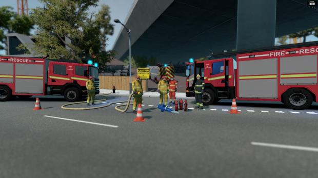 Flashing Lights Kickstarter: Firefighter Gameplay Reveal
