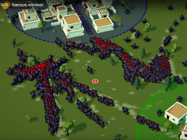 Epic battle - Horde Attack. More than 1,500 soldiers, it is real!