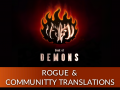 Book of Demons - Community Translators and Rogue